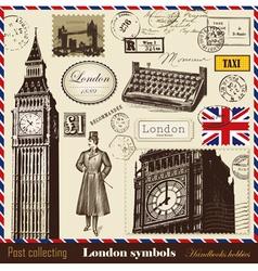 set london symbols vector image