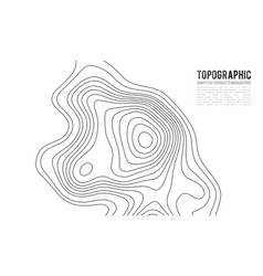 Topographic map contour background topo map with vector