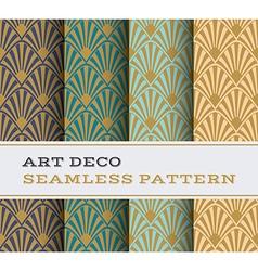 Art deco seamless pattern 17 vector