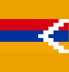 Artsakh national flag vector