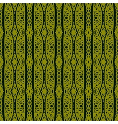 Ethnic pattern with lacy ornament vector image