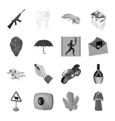 Transport alcohol army and other web icon in vector