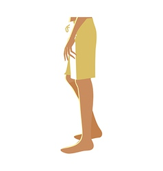 A mens lower body vector