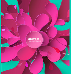abstract colored background with different shapes vector image