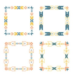 Borders collection vector image