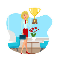 business achievement startup success vector image