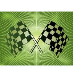 checkered past vector image