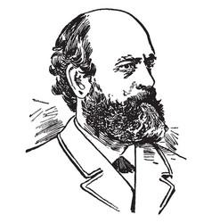 Henry george vintage vector