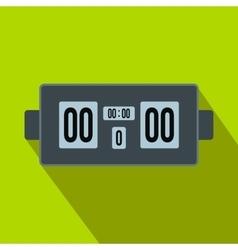 Scoreboard flat icon vector image