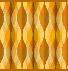 vintage yellow seamless pattern vector image
