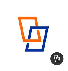 Windows stylized logo vector