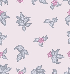 Cute flower vintage seamless background vector image vector image