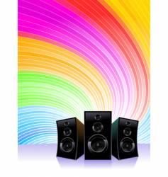 music shine vector image vector image