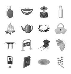 transport dentistry army and other web icon in vector image