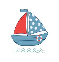 baboat print vector image