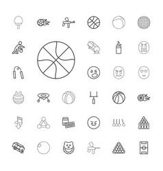 Ball icons vector