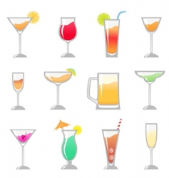 birthday party drink vector image