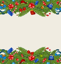 Christmas elegance background with holiday vector