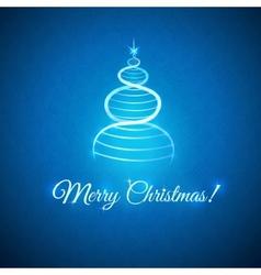 greetings with Christmas vector image