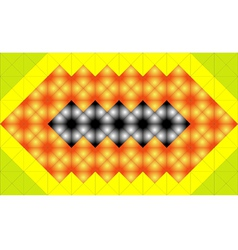 Mosaic structure vector image