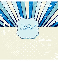 Rays pattern background vector image vector image