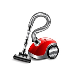 Vacuum cleaner isolated on white vector