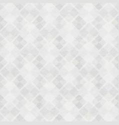 white grunge mosaic texture vector image