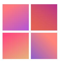 trendy color gradients vector image vector image