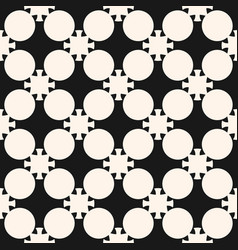 Abstract black seamless pattern in asian style vector
