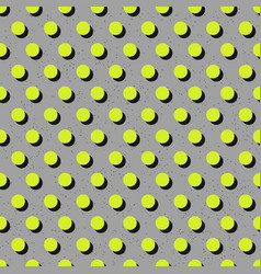 abstract seamless bright green polka dot pattern vector image
