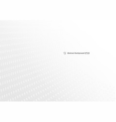 Abstract white perspective on gray background vector