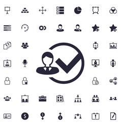 Add user icon vector