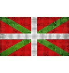 Basque flag vector image