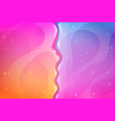 Colorful slimy background glitter slime texture vector