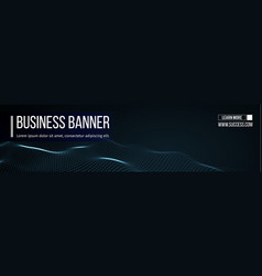 computer banner business banner design eps vector image