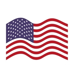 flag united states of america vector image