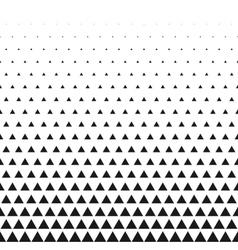 Triangular halftone grid gradient seamless vector