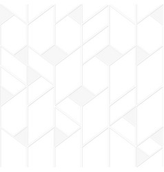 white tile seamless pattern vector image