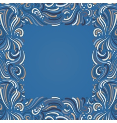 Background with abstract pattern vector image vector image