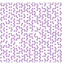 Cute purple triangles on white abstract seamless vector image vector image
