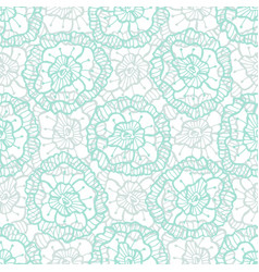 lace floral pattern fashion fabric textile swatch vector image vector image
