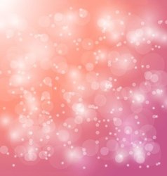 abstract bokeh blur on pink background vector image