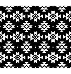 aztec pattern tribal background navajo de vector image vector image