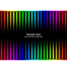 rainbow colors vector image vector image
