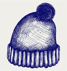 Winter Hat vector image vector image