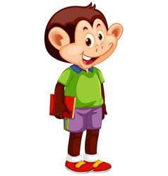 A monkey student character vector