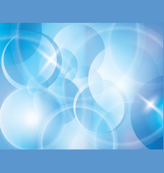 blue blur abstract background vector image