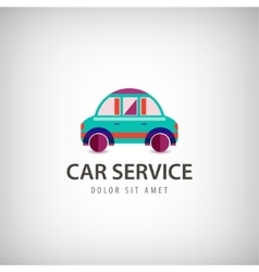 Car service logo icon isolated Identity vector