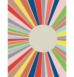 Colorful Rays Background vector