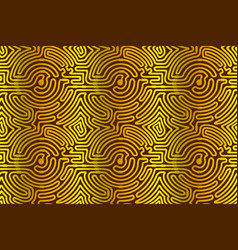 linear seamless pattern with circuit texture vector image